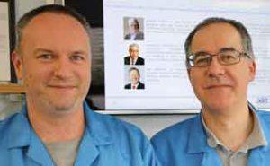 Roland Ledneczki and Guy Wood – QA-team, OSI Electronics UK.